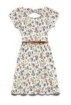 Sweet Floral Dress (Kids) | FOREVER21 girls - 2000070917