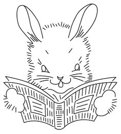 Read With Me Bunny - Vintage Spice and Everything Nice