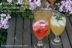 """Written by Krissa Jeldy of More Than Mundane.  We have an abundance of lemons this time of year and one of the things I love to make is lemonade. Spring and summer just call for homemade lemonade in my opinion, because, really--what says """"summer"""" more than drinking an ice cold glass of"""