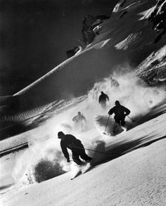 1952 Winter Olympics: American Skiers in Training - LIFE