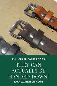 Tired of belts that break before they can be handed to the next child? Try full grain leather belts! They can handle even the toughest child! Next Children, Leather Sheets, Leather Craft, Handmade Leather, Inevitable, Etsy Handmade, Belts, Outdoor Travel, Vintage Leather