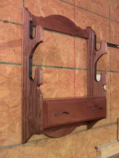 Wooden Fishing Rod Rack Diy Woodworking Projects Amp Plans