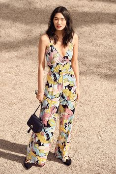 Flounce dresses, floral jumpsuits and elegant maxis for all summer soirées.   H&M Summer