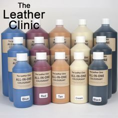 All In One Leather Colourant. / Dye Stain Paint Re-Colouring Restorer Repair Kit in Home, Furniture & DIY, Furniture, Sofas, Armchairs & Suites Paint Leather Couch, Leather Lounge, Painting Leather, Leather Couches, Leather Furniture, Diy Furniture, Leather Repair, Leather Dye, Dark Brown Leather Sofa