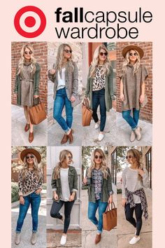 Target : Expect More. Pay Less. Fall Fashion Outfits, Casual Fall Outfits, Classic Outfits, Fall Fashion Trends, Fall Winter Outfits, Autumn Winter Fashion, Work Outfits, Capsule Wardrobe Women, Fall Wardrobe Essentials
