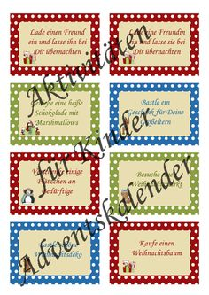 Geschenkideen adventskalender grundschule