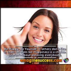 If your goal is to please everyone, you're going to be miserable. #happinessis #bartism http://emaginesuccess.com