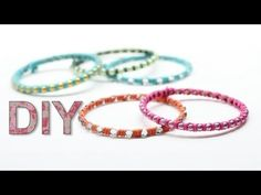 DIY Stackable Bangles - YouTube