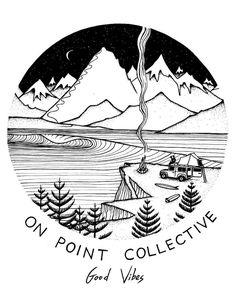 Artwork for @onpointcollective  Happy Friday!  www.jonasdraws.com by jonas_draws