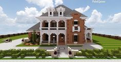 Southern Country Mansion Creative Minecraft building ideas