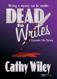Days before Cassie Ellis's debut mystery is published, one of her sources is killed, and the police start questioning her about the crime.