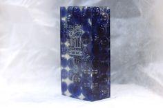 Награда (кубок) томбстоун из прозрачного или цветного акрила/оргстекла со стеклянными шариками внутри с гравировкой #award #trofy #acrylic #награда #кубок #приз #акрил
