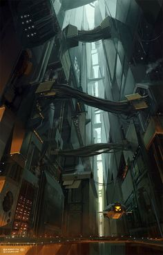Sci fi concept art | Sci-Fi Concept Art by Fabio Barretta Zungrone - What an ART