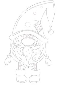 Вытынанки шаблоны трафареты для вырезания Christmas Makes, Christmas Art, Colouring Pages, Coloring Books, Diy Halloween, Xmas Drawing, Scandinavian Gnomes, New Years Decorations, Hand Painted Ornaments