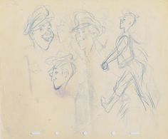 Deja View: Milt Kahl Sketches during WWII