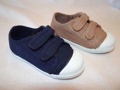 zapatillas de lona para niños