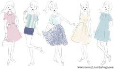 Rosaspina Vintage S/S 14 sketches