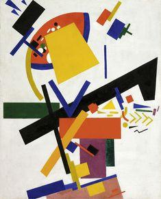 Kasimir Severinovich Malevich, Suprematism, 1915, Fondation Beyeler