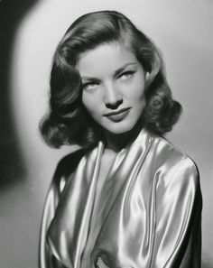 Lauren Bacall Short 1940s Hairstyle