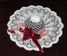 decorative crochet hat pattern to buy