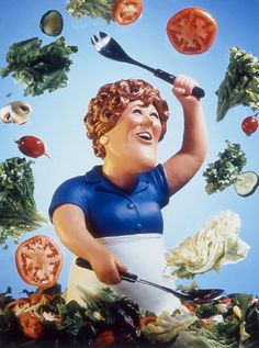 Julia Child by Robert Grossman