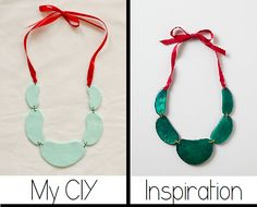 Create your  own Anthropologie Inspired Necklace //www.happinessiscreating.com