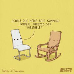Parezco inestable. #humor #risa #graciosas #chistosas #divertidas
