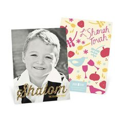Looking for Rosh Hashanah cards? Pear Tree Greetings has designs you'll love to celebrate this new year with family and friends!