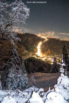 Genialer Novemberabend in Flachau #visitflachau #flachau #Schnee #ski  Foto by Christian Hochwimmer