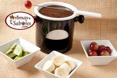 Fondue de chocolate e nutella