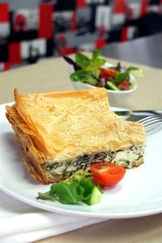 Greek Spinach and Cheese Pie Recipe #betterfromaBelling #Belling #BellingResults
