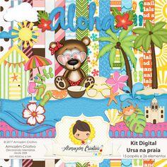 Kit digital Ursa na Praia - Armazem Criativo