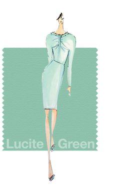 #LuciteGreen #Pantone pantone.com