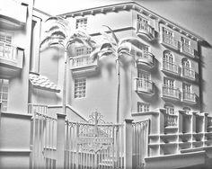 Architect Constructs 3D Cityscape Paper Sculptures - My Modern Metropolis
