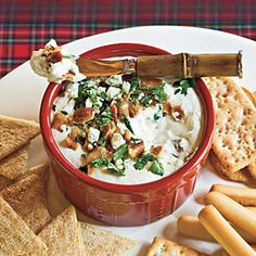 Bacon-Cheese Dip Recipe | MyRecipes.com