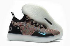 big sale 5fe9b 93431 Shop Nike KD 11 Multicolor Black Persian Violet-Bright Crimson-Chlorine  Blue - Mysecretshoes