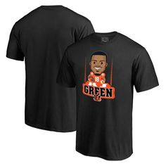 A.J. Green Cincinnati Bengals NFL Pro Line Player Emoji T-Shirt - Black