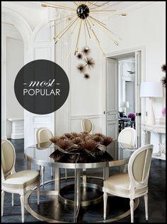 Interiors: A Modern GemRemade - Interiors. Fashion. Modern. Glamour. - Sukio