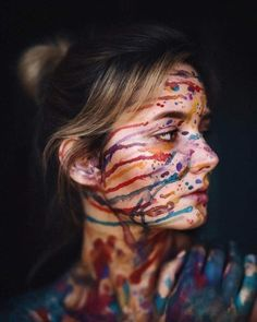 Most Amazing Female Portrait Photography Artistic Portrait Photography, Paint Photography, Creative Portrait Photography, Tumblr Photography, Photography Poses, Photography Hashtags, Female Photography, Photographie Art Corps, Kreative Portraits