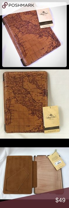🆕 Patricia Nash Signature Map iPad Air 2 Pro case Could a better case be made?! Patricia Nash, genuine Italian leather case with a map of Italy 🇮🇹 and a phone style stand!!!! Retail $79. Yours for $50 :) check out my other Patricia Nash items! Patricia Nash Accessories Tablet Cases