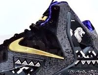 separation shoes 02e78 b4991 THE SNEAKER ADDICT  2014 Nke Lebron 11 XI BHM Black History Month Sneaker  (Images