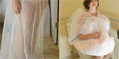 El invento que todas las novias querrán... ¡para ir al baño!