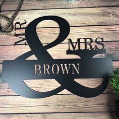 #Couple Goals #Monograms #Steel Monogram #Metal Monograms #HomeDecor #PureSteel #USAMADE #CoupleMonograms #USAFLAG