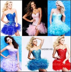 Short Prom Dresses 2012: Sherri Hill 2541