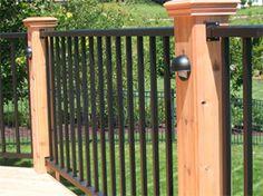 aluminum deck railings - Google Search                                                                                                                                                                                 More