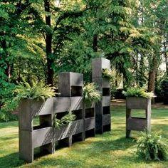 Ein Kleiner #Sichtschutz Aus #Holz #Garten #Planung Und # Ausführung Www.