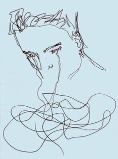 "Image about art in the ""depressing"" stuff by ·satune· Art Hoe, Gcse Art, Blue Aesthetic, Art Inspo, Cool Art, Art Projects, Art Photography, Digital Art, Illustration Art"