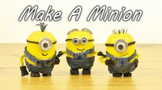 """Did you see the """"Despicable Me"""" movies? There's a new one coming out that's all about those adorable little minions. Did you know you can make those cute little yellow guys at home with stuff you probably already have? This is a great project to try with the kids. Watch and learn how to do it in this cool video."""
