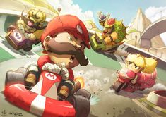 Karting with Spirit by =theCHAMBA on deviantART