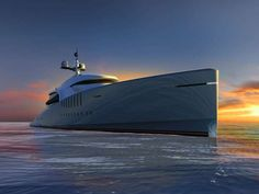 From The Same Designers Of The MYM And Migaloo Submarine Comes - Giga yacht takes luxury oil tanker sized extreme